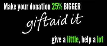 Gift Aid your donation