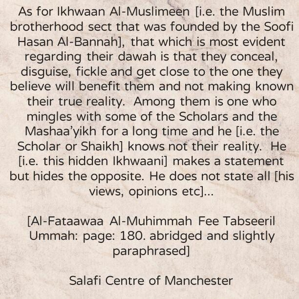 Al-Mulaazamah For Ulterior Motives [i.e. accompanying scholars and studying under them for a long time, whilst concealing Ulterior Motives]