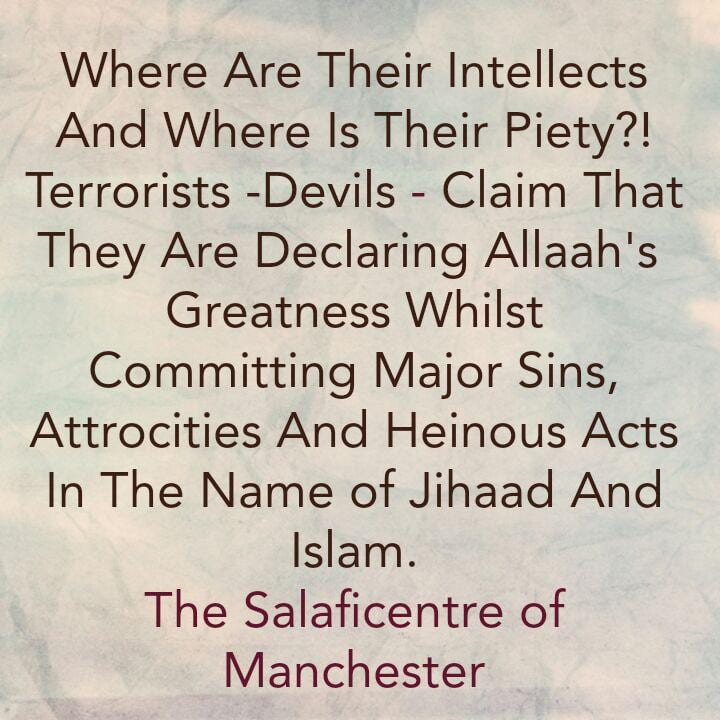 Where Are Their Intellects And Where is Their Piety?!