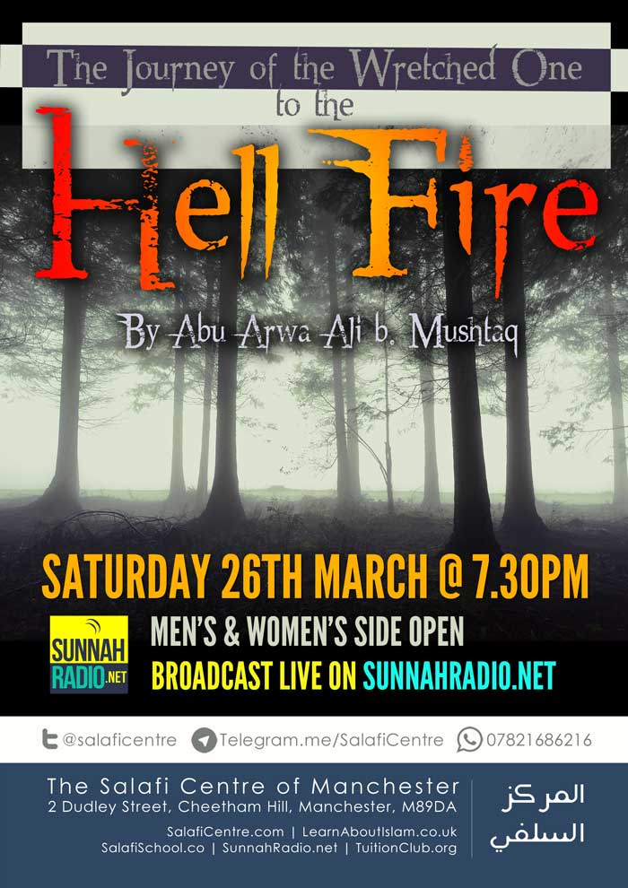 The Hell Fire: The Journey of The Wretched One – Live Sat 26 Mar @ 7:30