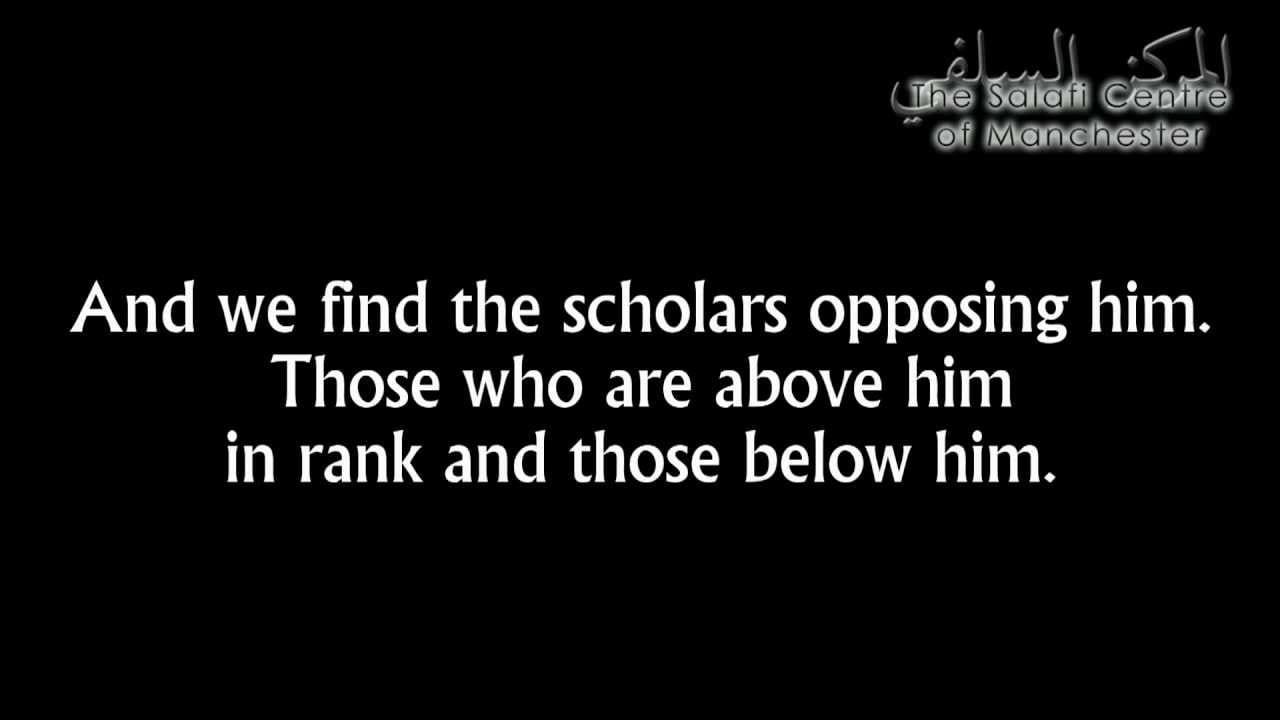 Shaikh Rabee' on al-Jarh wa Ta'deel (Criticism & Praise)