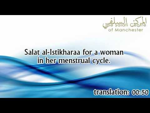 Salat al-Istikhaarah for a woman during her menstrual cycle | Shaikh Zayd ibn Hadee al-Madkhalee