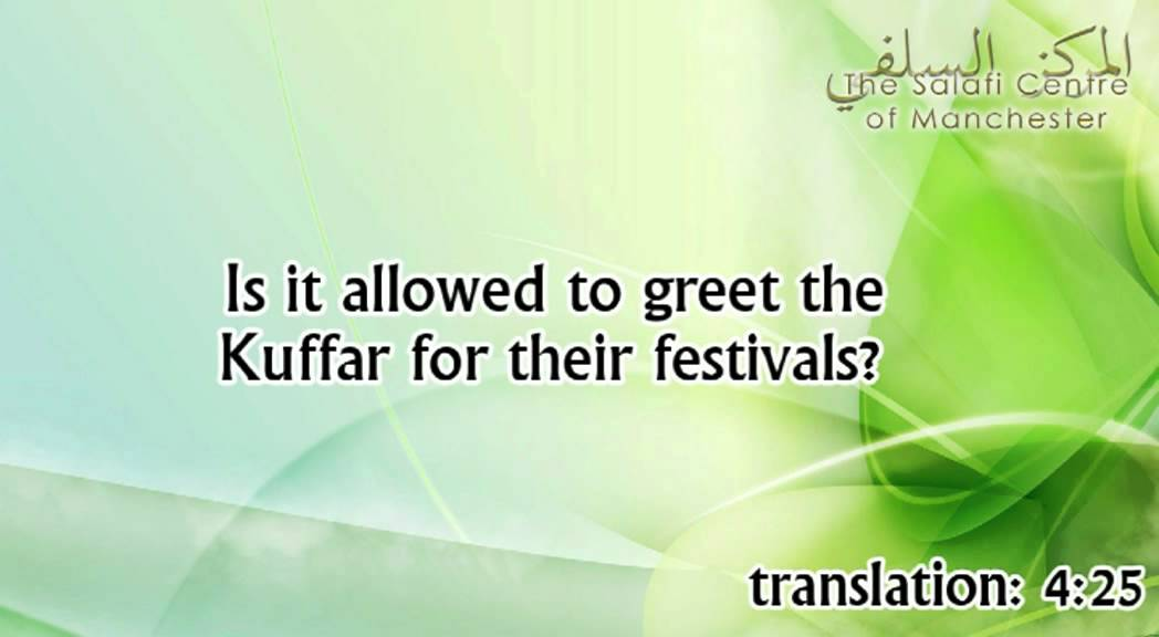 Is it allowed to greet the disbelievers on their festivals? | Shaikh Zayd ibn Hadee al-Madkhalee