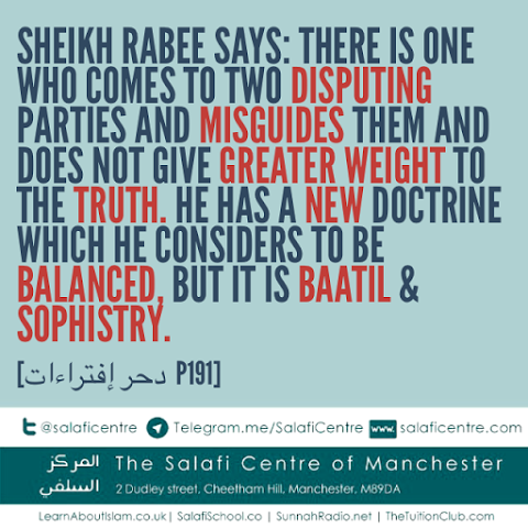 Tricks Of The One Who Attempts to Misguide People – Shaykh Rabee'
