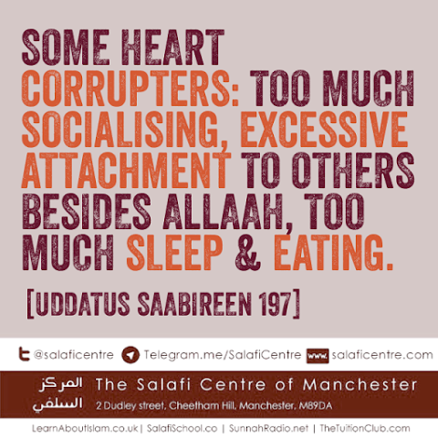 Five Corrupters of The Heart