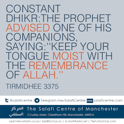Constant Dhikr