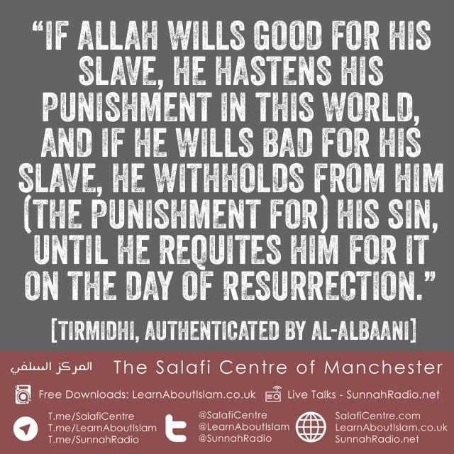 He Thinks Allah Dislikes Him – Shaykh Ahmad an-Najmee
