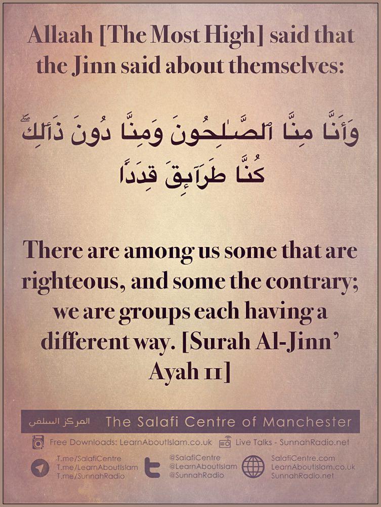 Some Sects of Bidah and Misguidance amongst the Jinn – by Al-Hasan Al-Basri, As-Sadee and Ibn Kaysaan