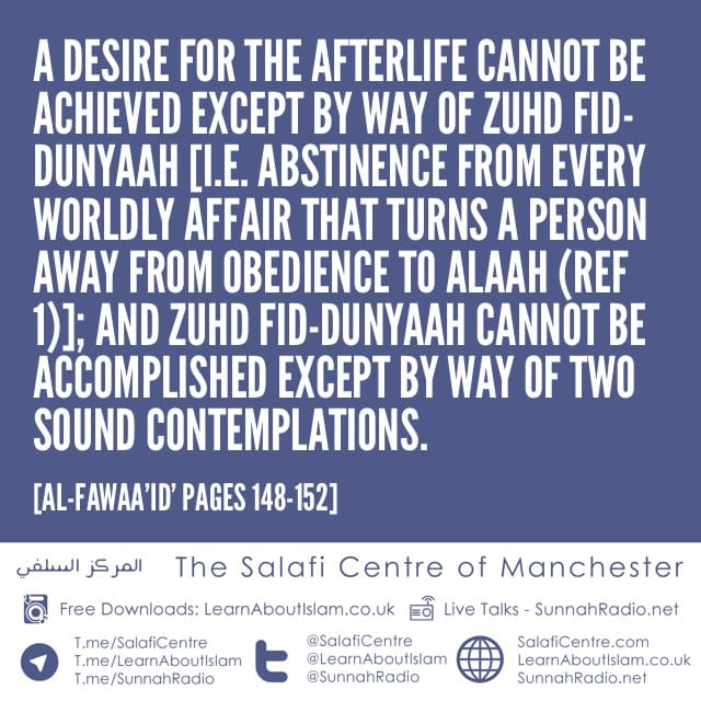 Two Mandatory Contemplations By Way of Which The Reality of The Worldly Life and The Afterlife Are Manifested to a Person- By Imaam Ibnul Qayyim (rahimahullaah)