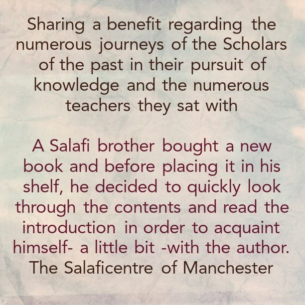 A Brief Acquaintance With The Numerous Teachers of Imaam At-Tabari [rahimahullaah]