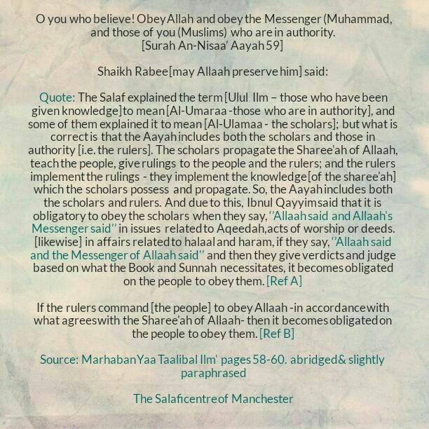 [15A] Excerpts from Shaikh Rabee's Book Titled 'Marhaban Yaa Taalibal Ilm' – [Those Who Seek to Topple The (Upright) Scholars in Order to Be Able to Propagate Their Destructive Methodologies]