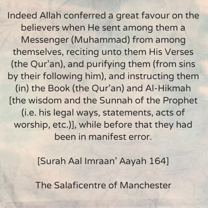 [38] Excerpts from Shaikh Rabee's Book Titled 'Marhaban Yaa Taalibal Ilm': [Shaikh Rabee Speaks About The Great Favour Conferred On This Ummah and Shaikh Fawzaan Speaks About The State of Affairs Before The Appearance of The Final Messenger]