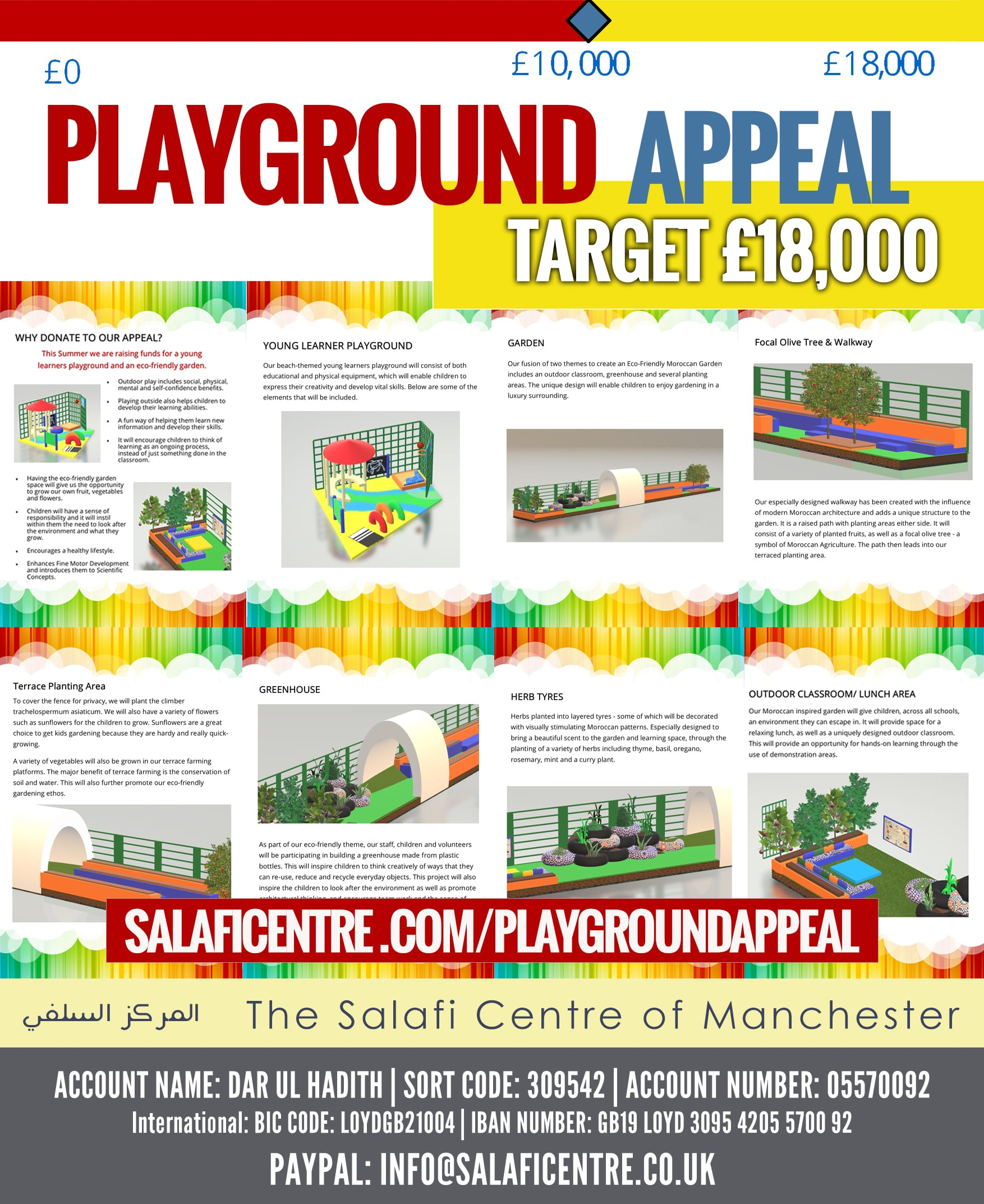Appeal 2018 – Help Fund the New Playground Project!