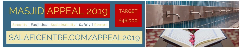 Masjid Appeal 2019