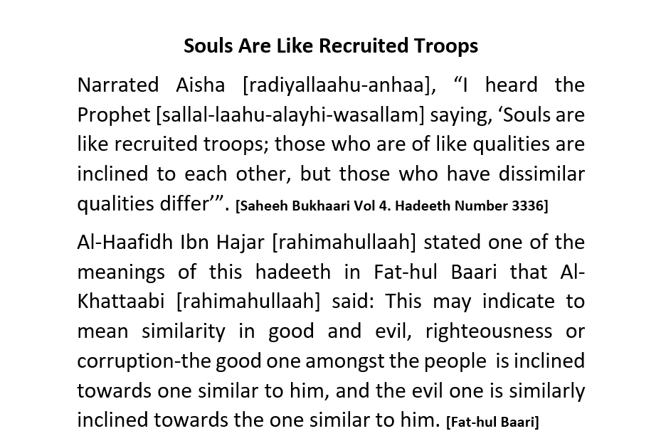 Souls Are Like Recruited Troops – [Three Deviants and Slanderers (Abdul Haqq Baker, Abu Usaamah And Muhammad Hijaab)] Exposed