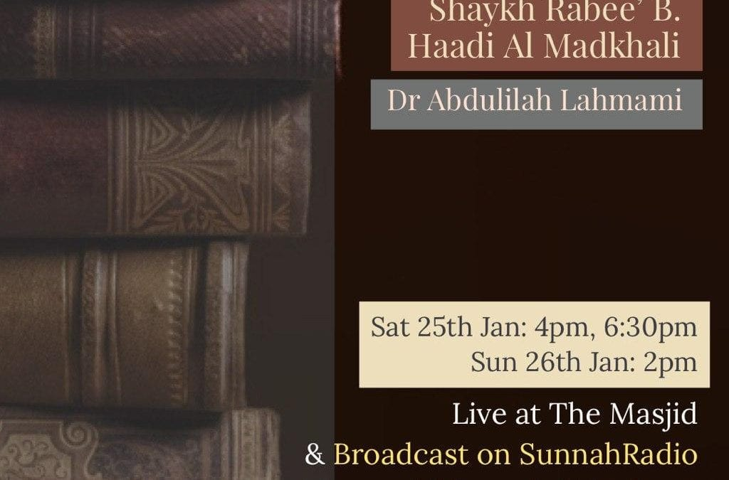 """Weekend of Knowledge! """"Obstacles in the Path of Seeking Knowledge"""" with Dr Abdulilah Lahmami"""