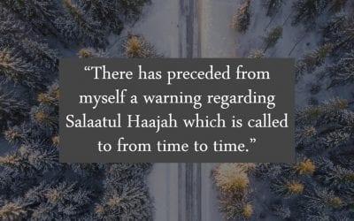 Warning Against Salātul Hājah an innovated prayer with no basis or authentic proof from the Sunnah. Shaykh Abu Abdillah Khalid Adh-Dhufayri (Allah preserve and reward him)